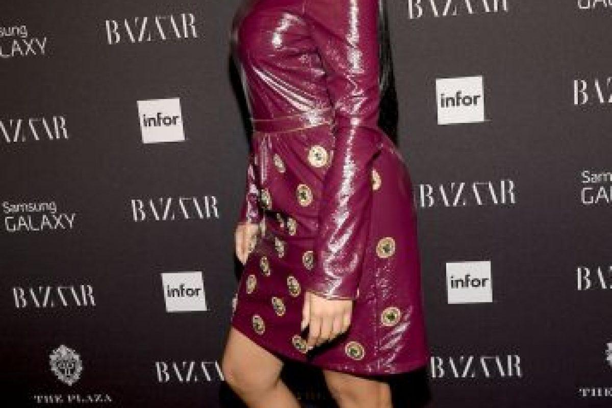 Mientras crecía Nicki Minaj, estaba rodeada de problemas y la lucha constante entre sus padres Foto:Getty Images. Imagen Por: