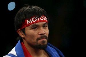 El Pac-Man a sus 35 años es uno de los mejores boxeadores libra por libra Foto:Getty. Imagen Por: