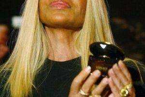 En el lanzamiento de su fragancia, en 2004 Foto:Getty Images. Imagen Por: