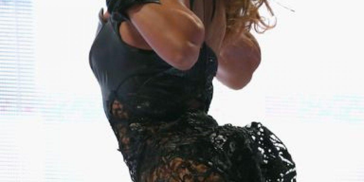 VIDEO: Filman a Beyoncé con un comportamiento muy extraño
