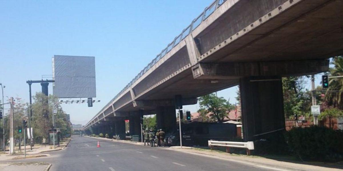 Objeto sospechoso desactivado por el GOPE en Metro San Joaquín era una bomba artesanal