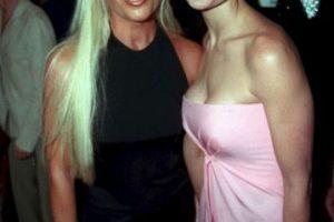 Con Demi Moore, en 1997 Foto:Vogue. Imagen Por: