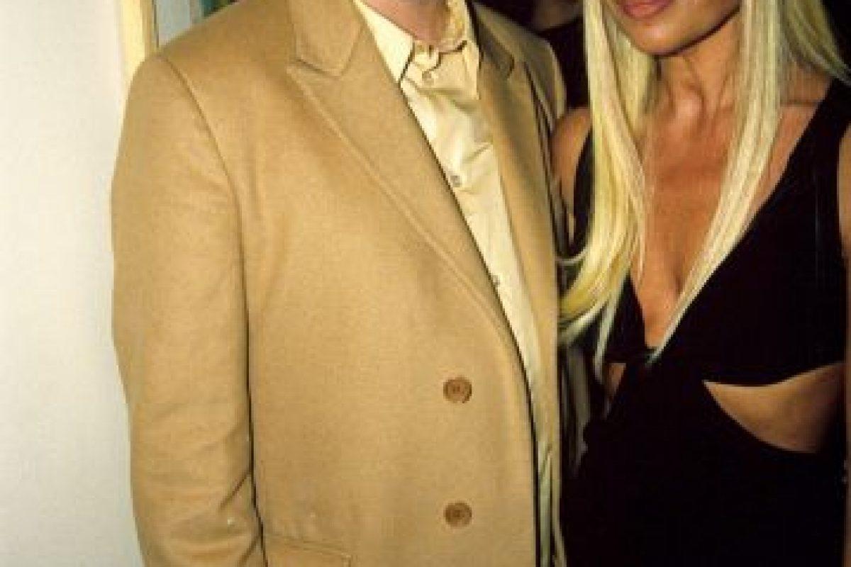 En 1997, en una fiesta en Londres Foto:Vogue. Imagen Por: