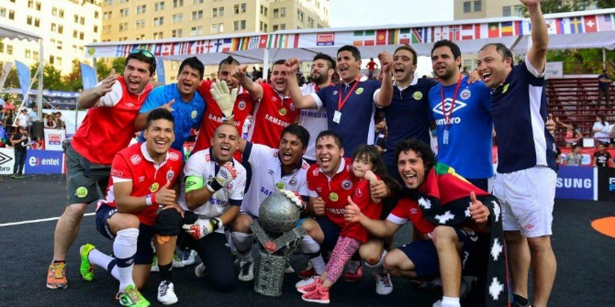 El apoyo clave que recibió la selección chilena de Fútbol Calle para llegar a la cima