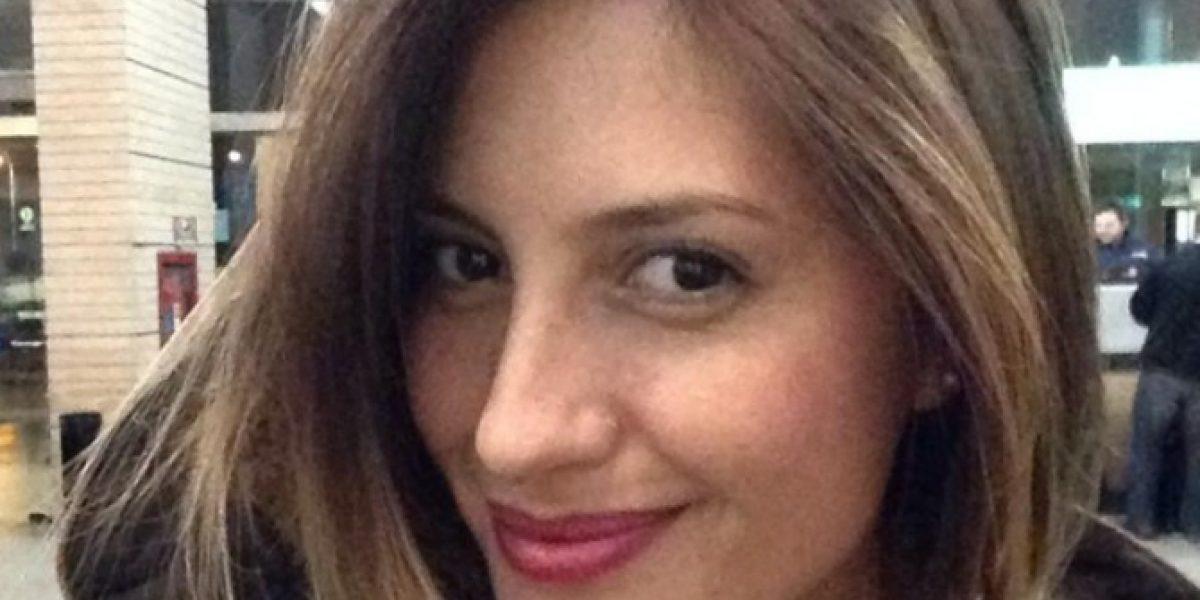 Karen Paola recargada: Mega la saca del