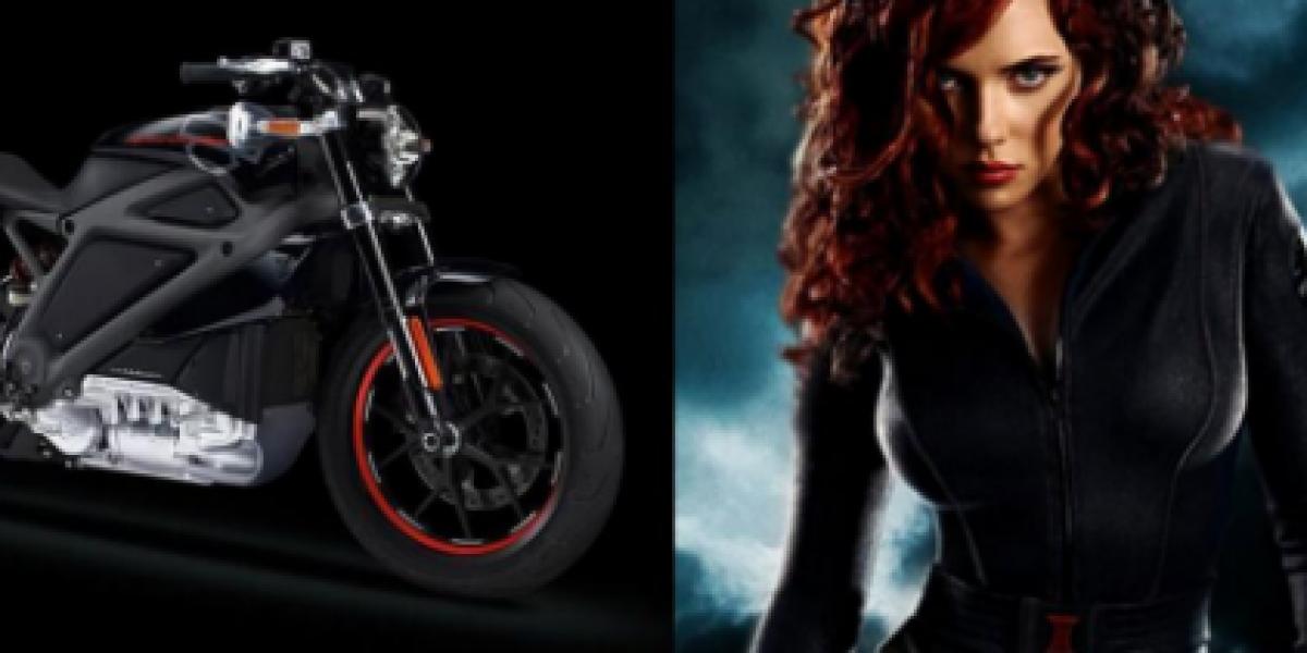Scarlet Johansson se lucirá en esta Harley Davidson en