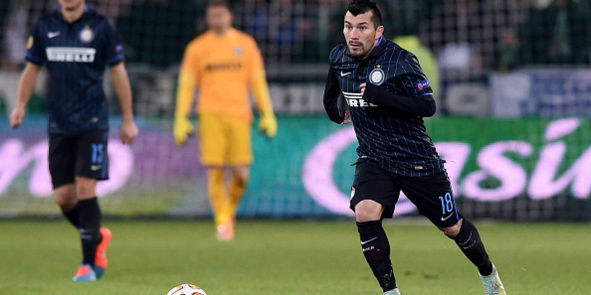 El Inter de Gary sólo igualó en la Europa League, pero sigue primero en su grupo