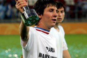 Lionel Messi ganó la Copa del Mundo juvenil en 2005, con 18 años de edad Foto:Getty. Imagen Por: