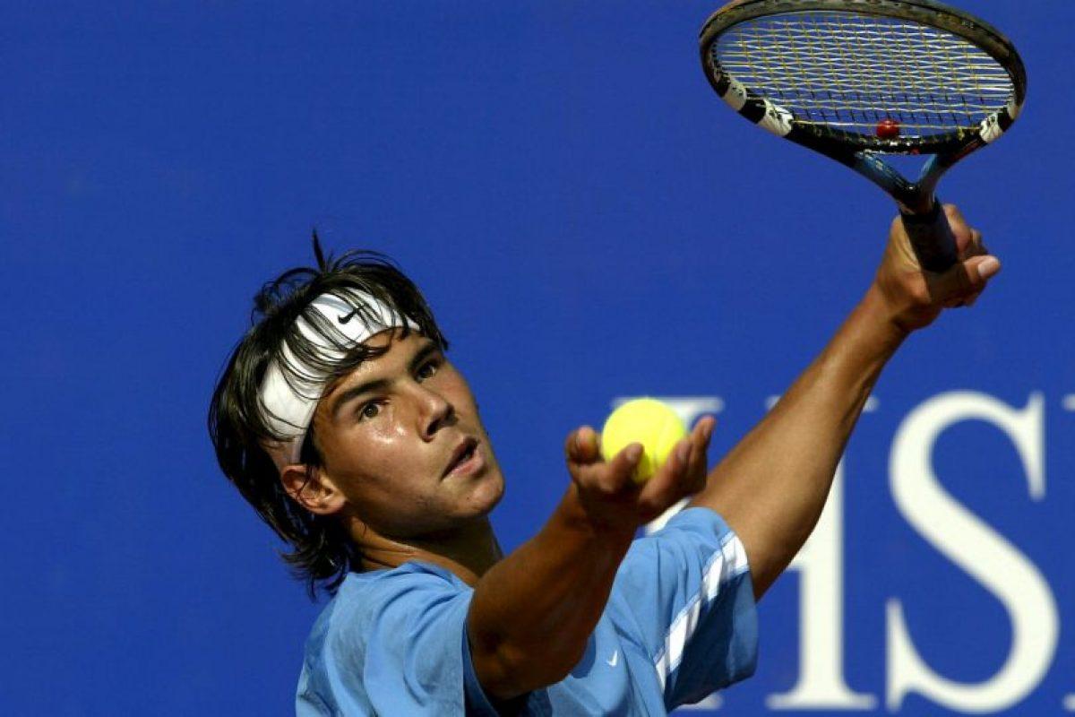 Rafa Nadal ganó el torneo Internacional Series de Mallorca a los 15 años Foto:Getty. Imagen Por: