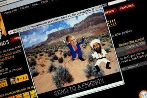 Videojuegos inspirados en contra del líder de Al Qaeda, en 2001 Foto:Getty Images. Imagen Por:
