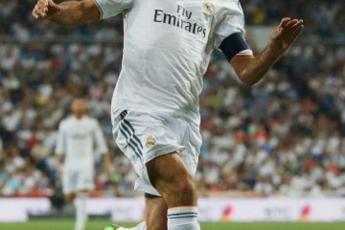 """""""El Ángel de Madrid"""" fue el primero en llegar a los 71 goles; lo hizo en 144 partidos disputados, por lo que tuvo un promedio de gol de 0.49 goles por cotejo Foto:Getty. Imagen Por:"""