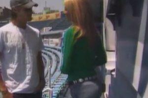 Durante una entrevista con el futbolista mexicano Gerardo Lugo en 2007 Foto:Youtube: TV Azteca. Imagen Por: