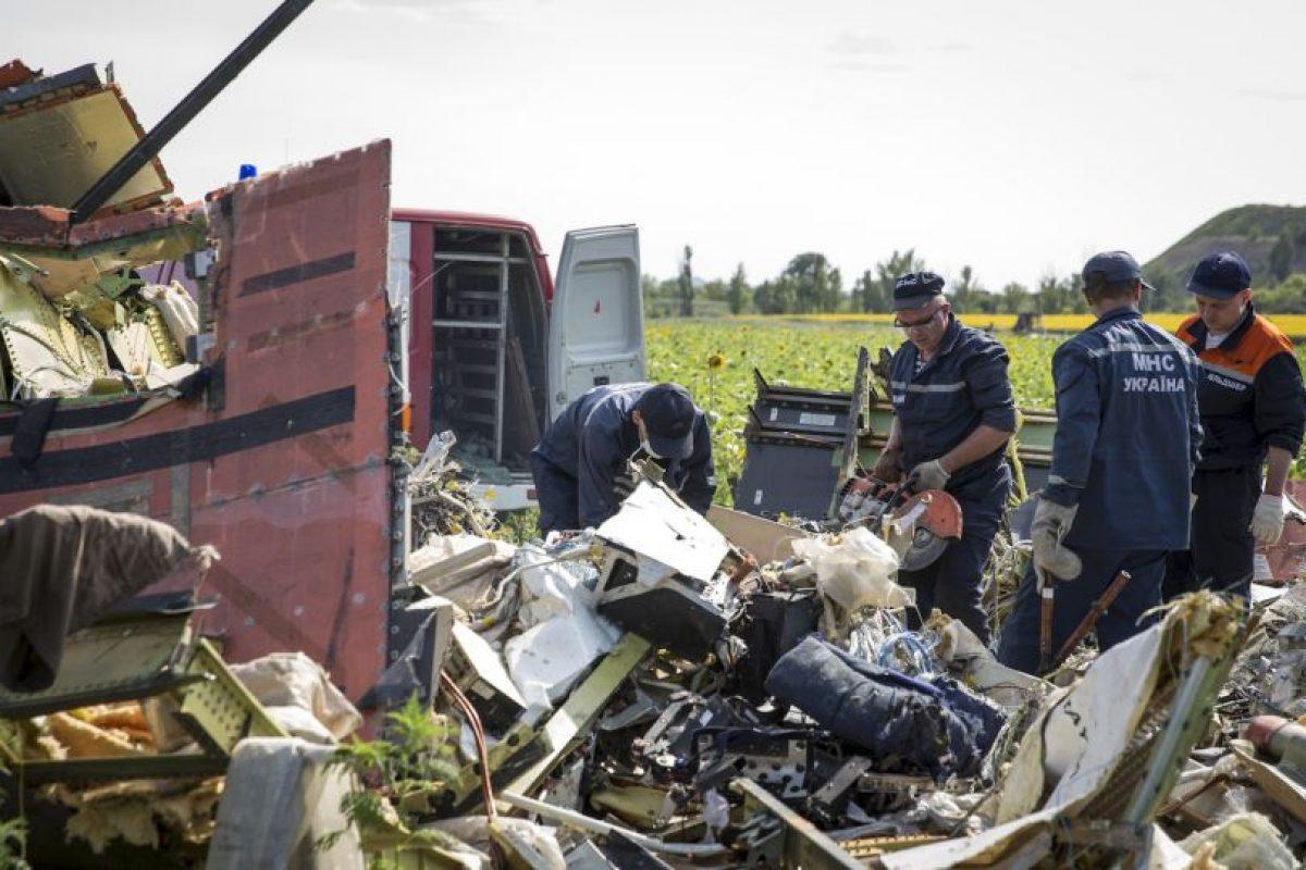 El avión cayó en una zona de conflicto. Foto:Getty Images. Imagen Por: