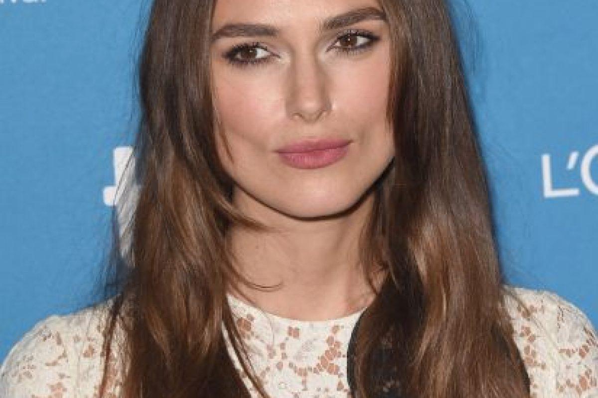 Keira supo desde pequeña que quería ser actriz Foto:Getty Images. Imagen Por: