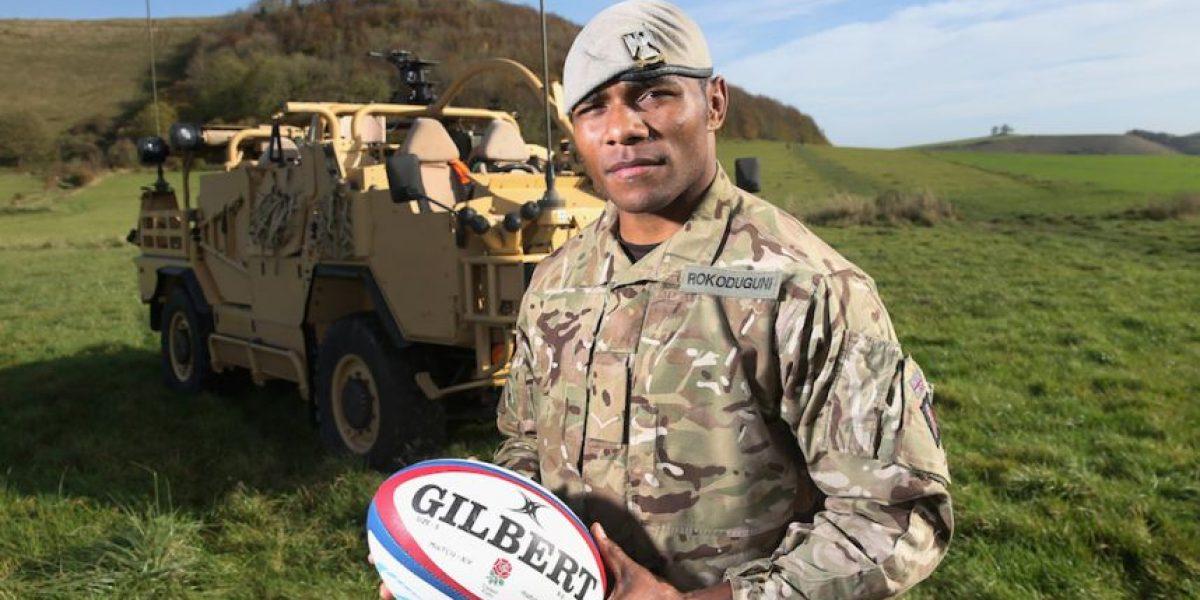 Semesa Rokoduguni: De soldado en Afganistán a seleccionado de rugby