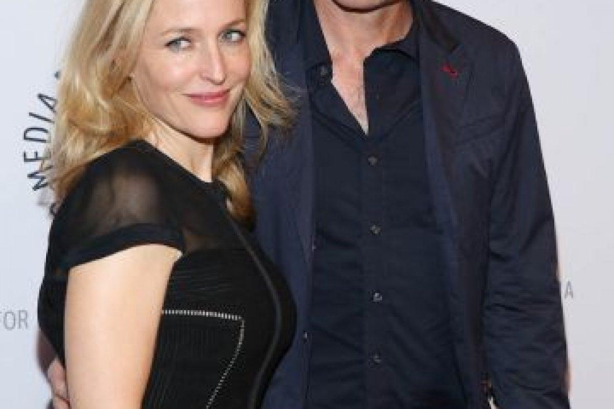"""La estrella de """"X Files"""" confesó haber estado en una larga relación con una mujer durante su juventud. Foto:Getty. Imagen Por:"""