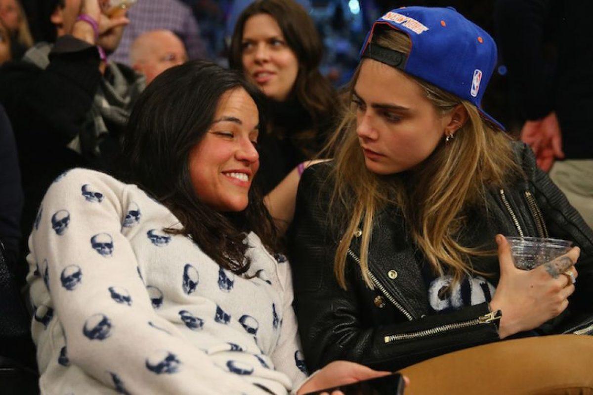 Entre estas, su única relación realmente confirmada es la que sostuvo con Michelle Rodríguez. Foto: Getty. Imagen Por: