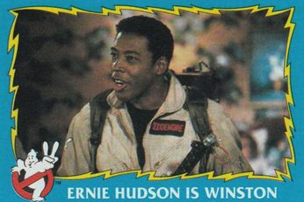 Ernie Hudson interpretó a Winston Zeddemore Foto:Twitter. Imagen Por: