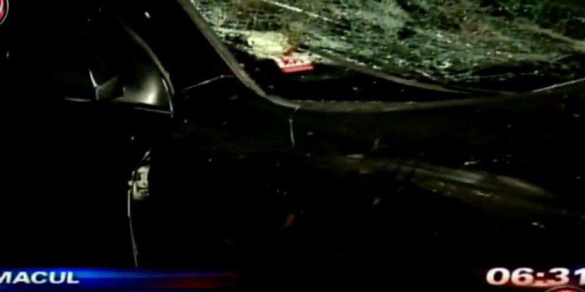 Automovilista atropelló a niño y familiares intentaron lincharlo en Macul