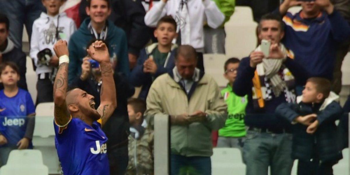 Juventus sometió a exámenes médicos a Vidal antes de viajar a la Roja