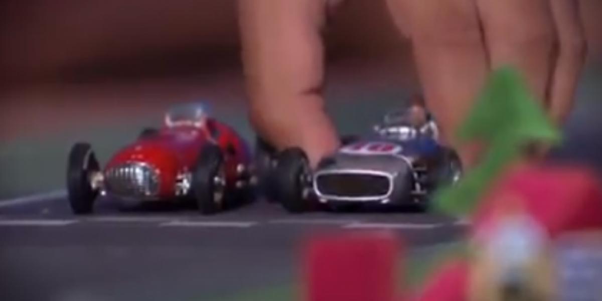 La evolución de la F1 explicada con juguetes
