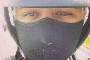 Jadiel, reggaetonero, murió en su moto por este selfie. Foto:Vía Twitter. Imagen Por:
