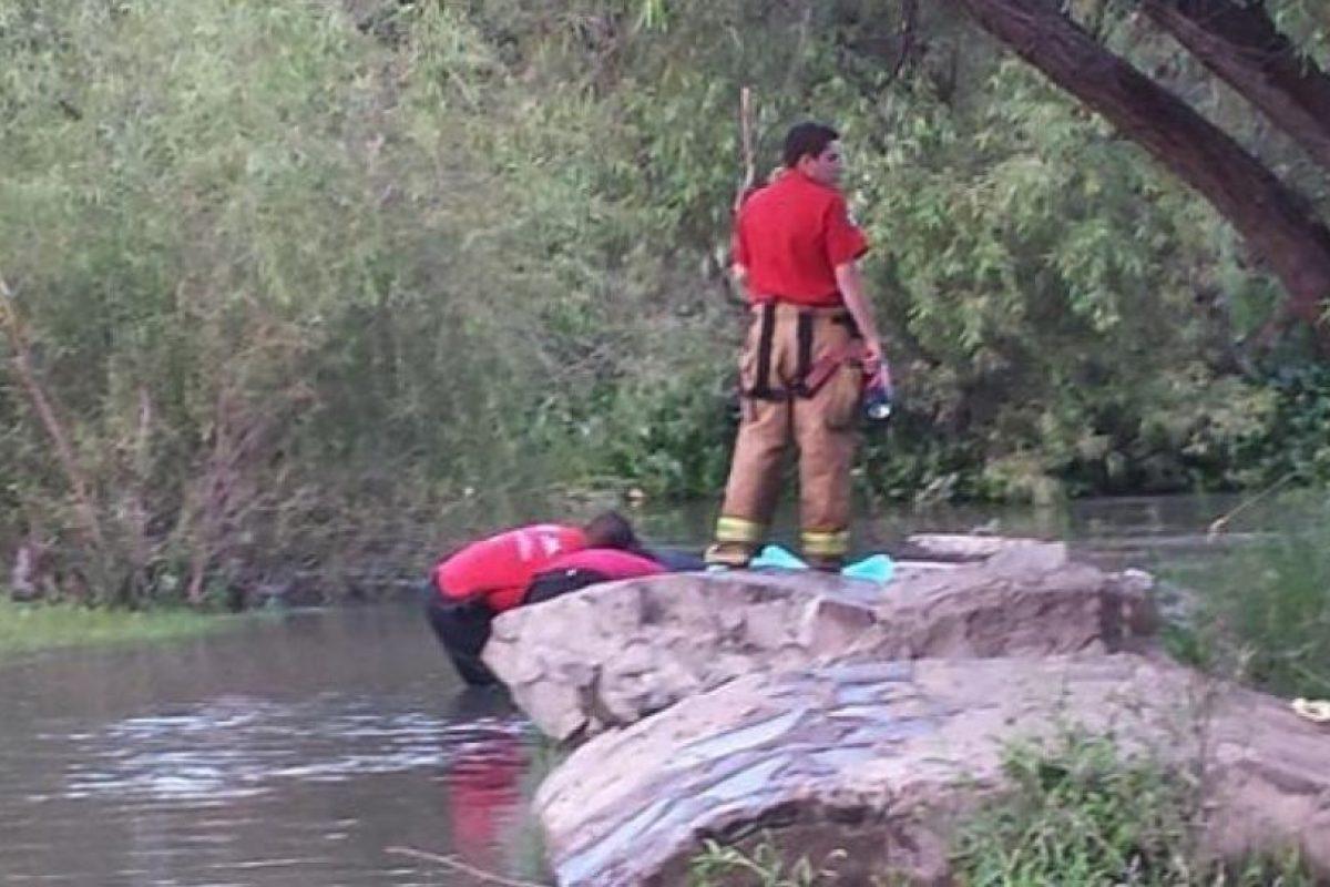 Pamela Hernández cayó al agua y se ahogó Foto:Vía Protección Civil de México. Imagen Por: