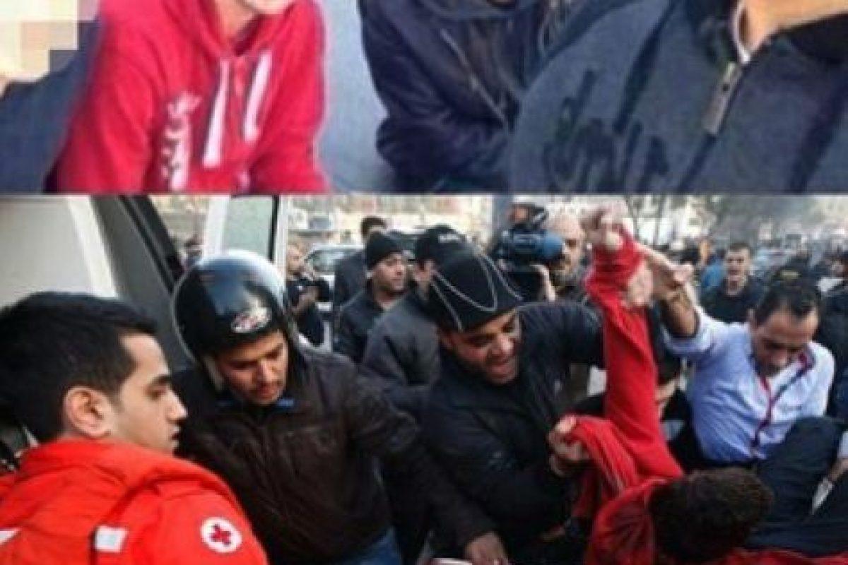 Mohammad al- Chaar se tomó esta foto antes de morir por una explosión de coche-bomba Foto:AFP. Imagen Por: