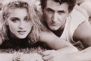Durante su breve relación en los 80, Sean Penn y Madonna tuvieron varias peleas Foto:Vía Imugr. Imagen Por: