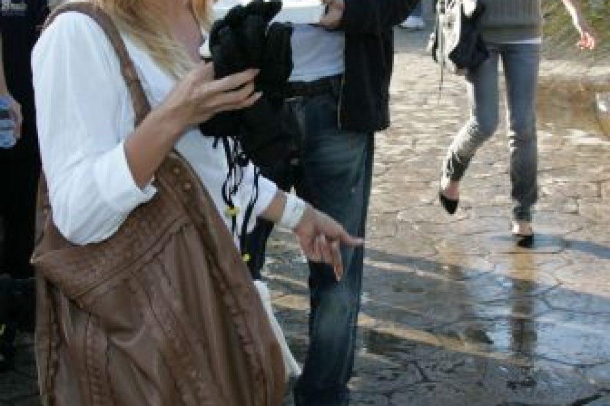 Pamela Anderson estaba embarazada cuando sufrió el abuso de su pareja Foto:Getty. Imagen Por: