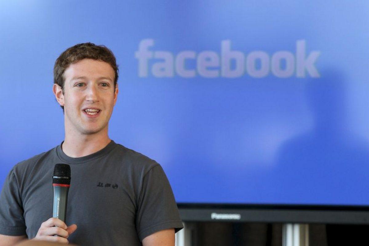 Es el CEO de la red social más utilizada en el mundo. Foto:Getty. Imagen Por: