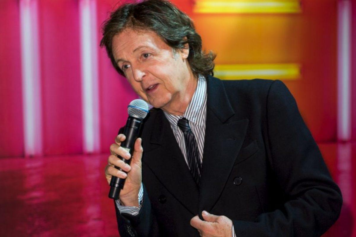 Paul McCartney Foto:Getty Images. Imagen Por: