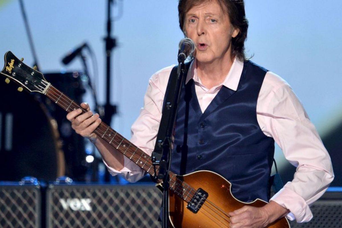 2. Paul McCartney Foto:Getty Images. Imagen Por: