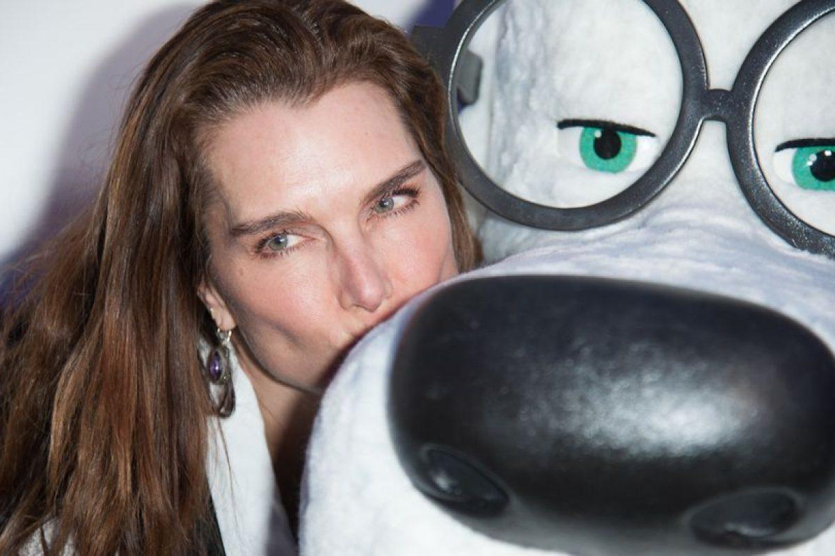 Antes de conocer al tenista, Brooke había sido pareja del actor Matt Dillon. Foto:Getty Images. Imagen Por: