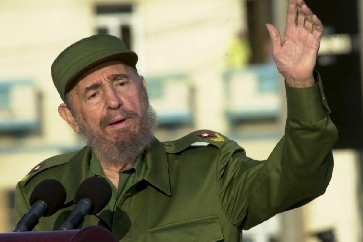 1. Fidel Castro Foto:Getty Images. Imagen Por: