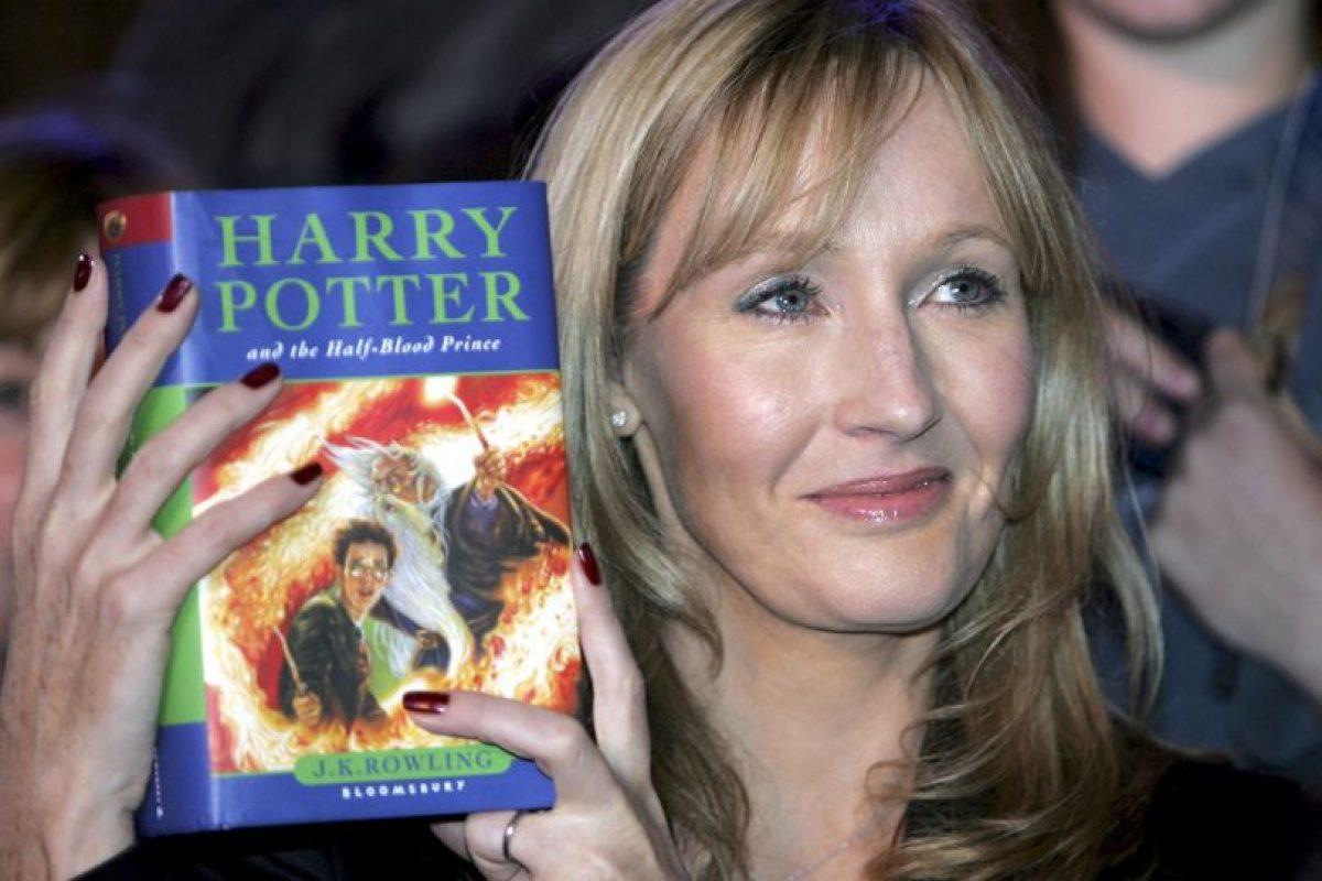 4. J.K. Rowling Foto:Getty Images. Imagen Por: