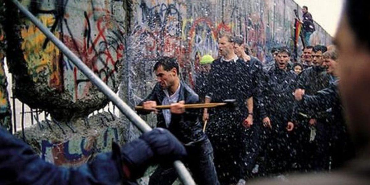 Galería: Hoy se conmemoran 25 años de la caída del muro de Berlín.