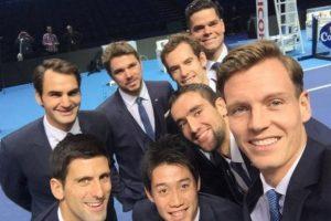 Los tenistas que competirán en el Torneo de Maestros. Foto:twitter.com/tomasberdych. Imagen Por: