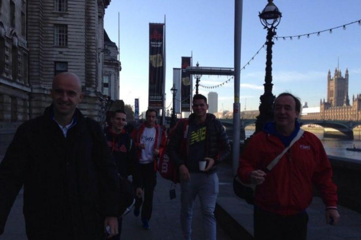 Milos Raonic salió a pasear con su equipo. Foto:twitter.com/milosraonic. Imagen Por: