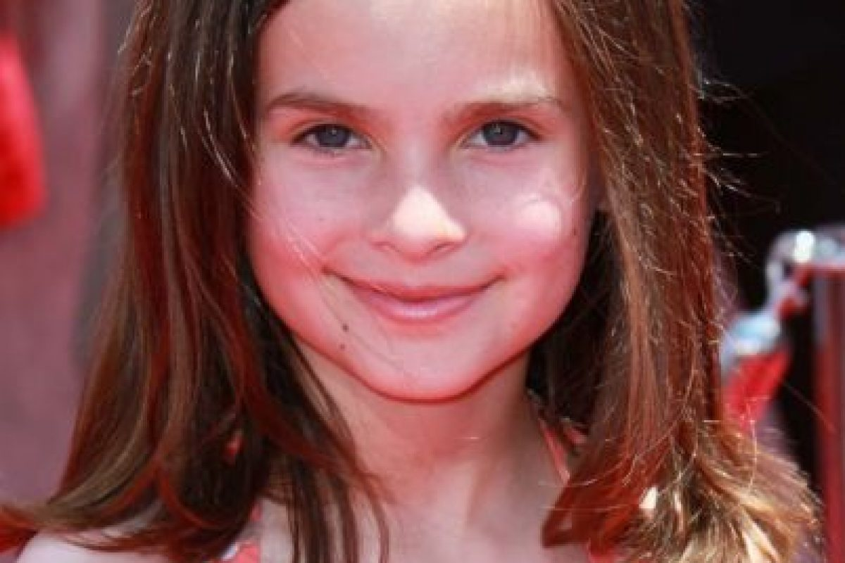 Emily Hahn es la voz de la niña que se encariña con Woddy y sus amigos. Foto:Getty Images. Imagen Por: