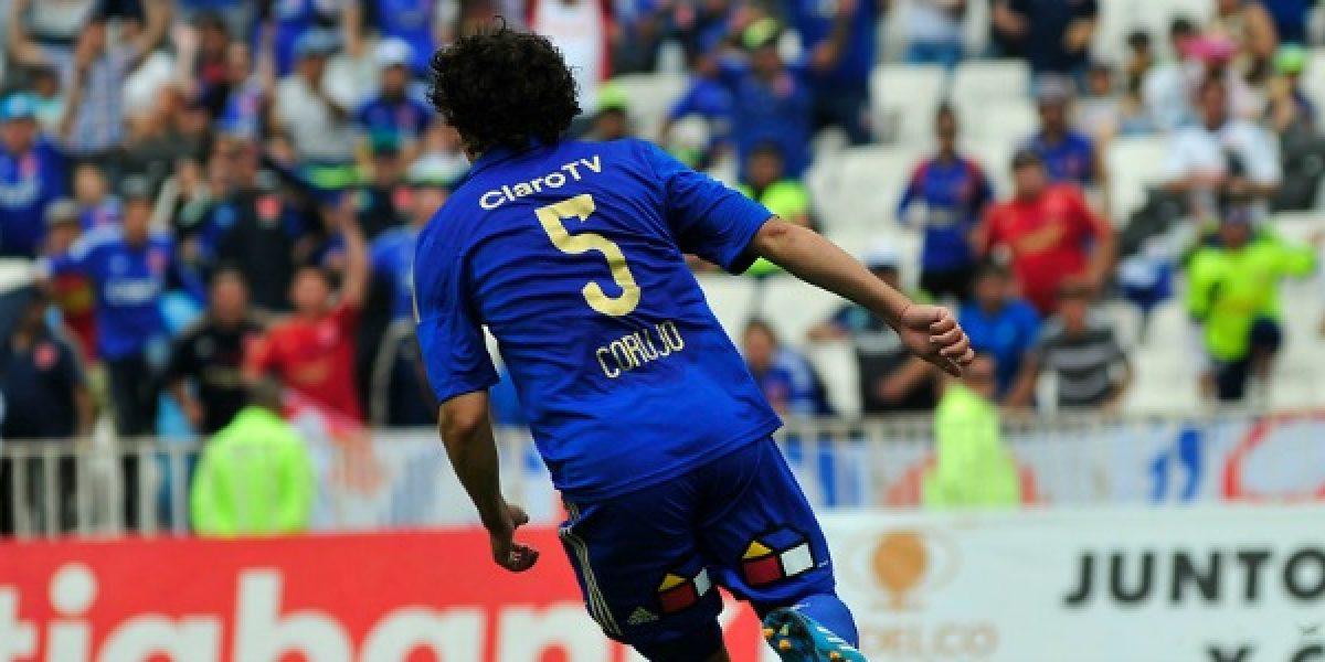 La U goleó a Cobreloa con goles de Corujo, Rubio, Cortés y Vidal
