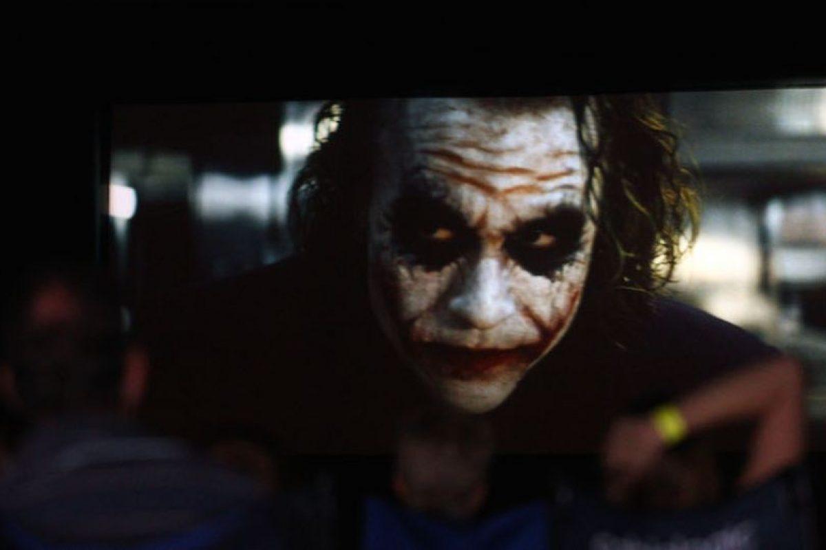 El personaje fue interpretado por Heath Ledger Foto:Getty. Imagen Por:
