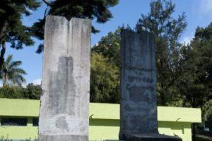 Fragmentos del Muro de Berlín alrededor del mundo: Guatemala Foto:AFP. Imagen Por: