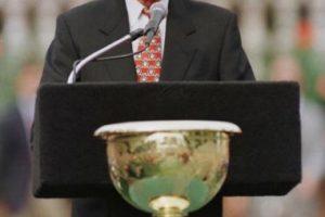 George Bush jura como el presidente 41 de Estados Unidos Foto:Getty Images. Imagen Por: