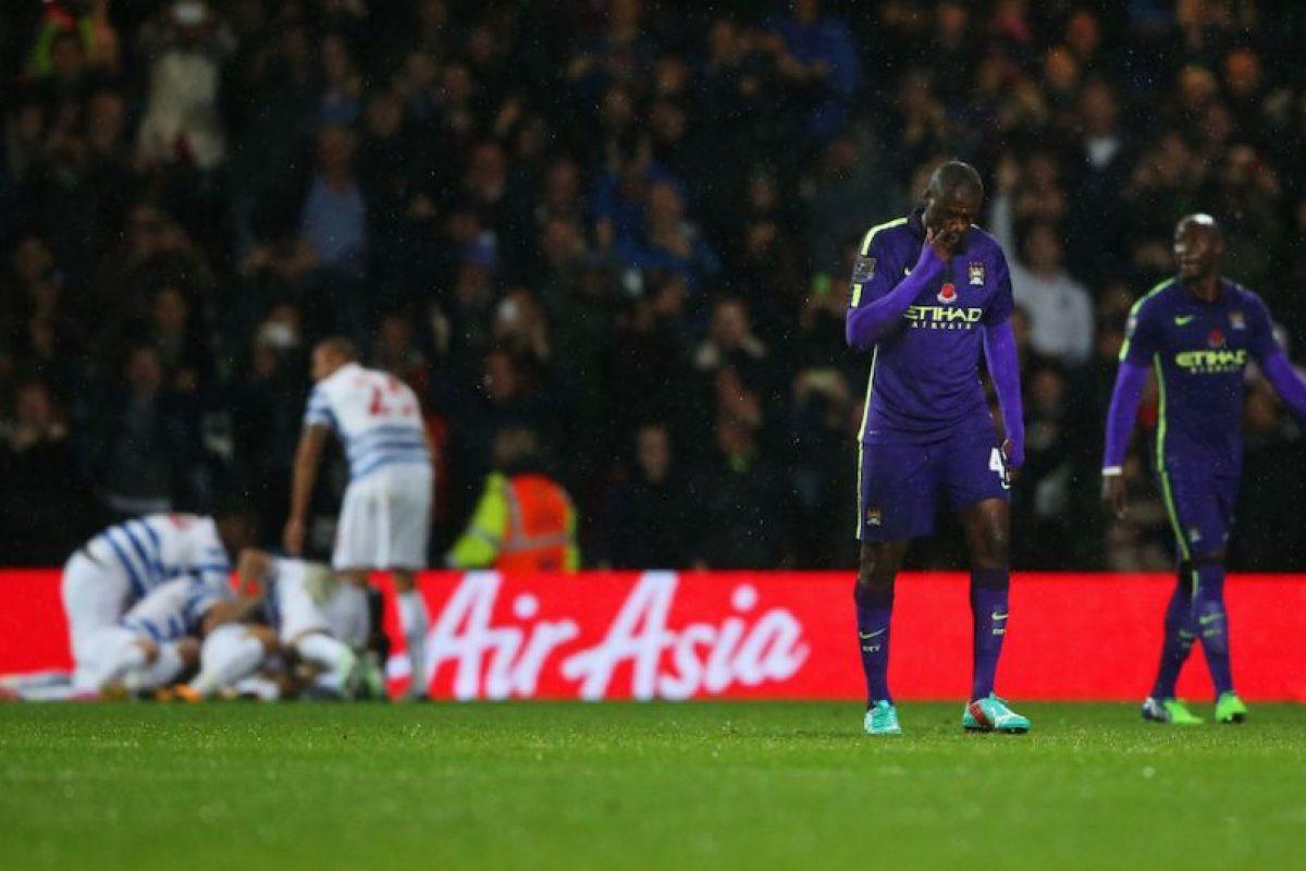 El Manchester City no pudo pasar del empate ante el Queens Park Rangers. Foto:Getty Images. Imagen Por: