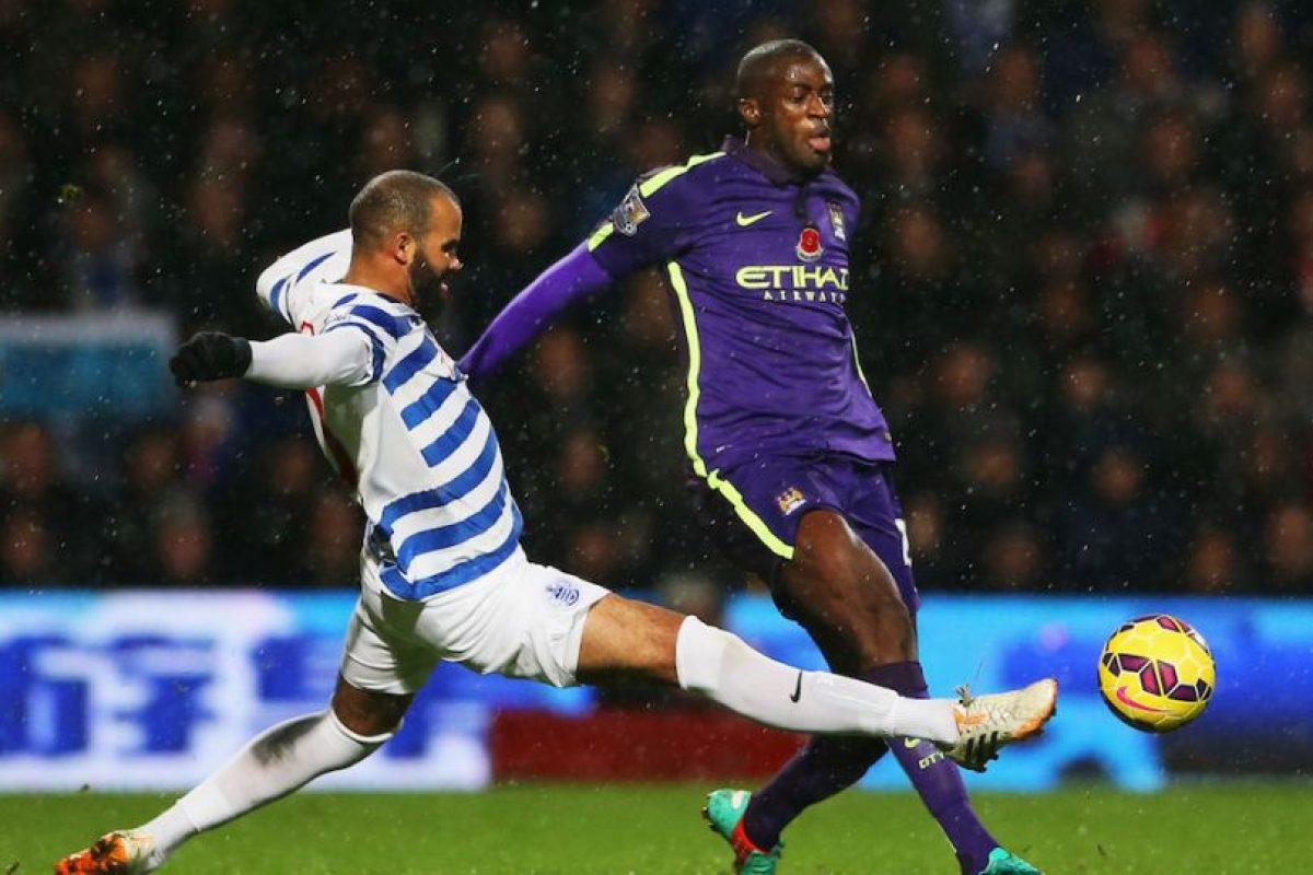 Yaya Touré pensará dos veces antes de pegarle con gran fuerza al balón. Foto:Getty Images. Imagen Por: