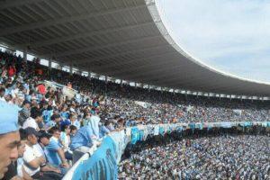 Así se ven las tribunas del estadio de Belgrano. Foto:Google Maps. Imagen Por: