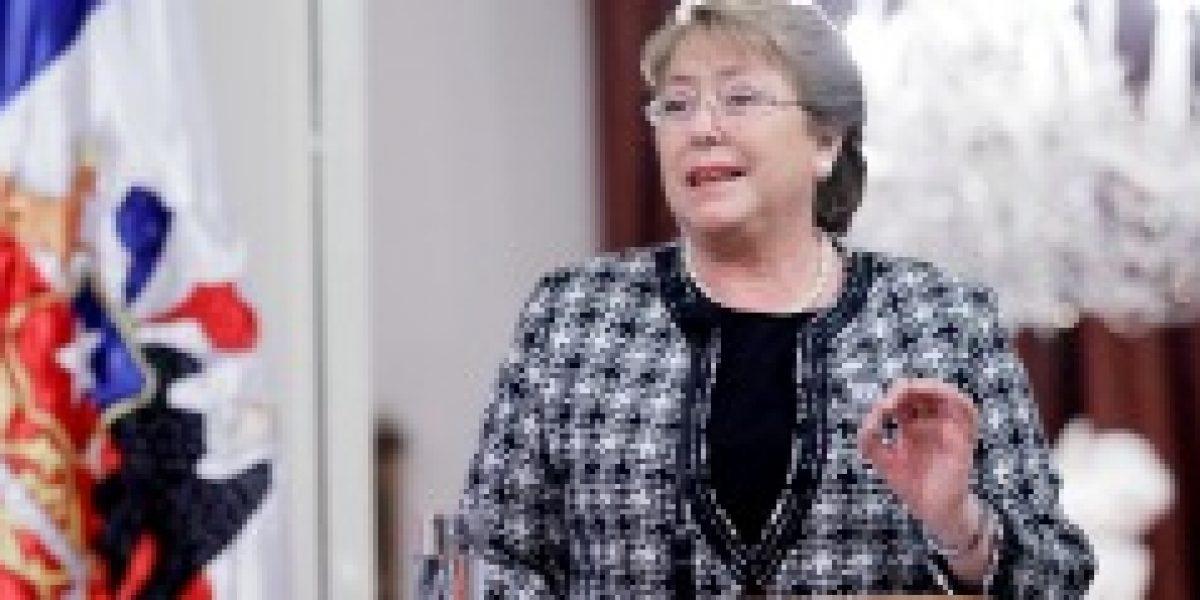Bachelet en China: