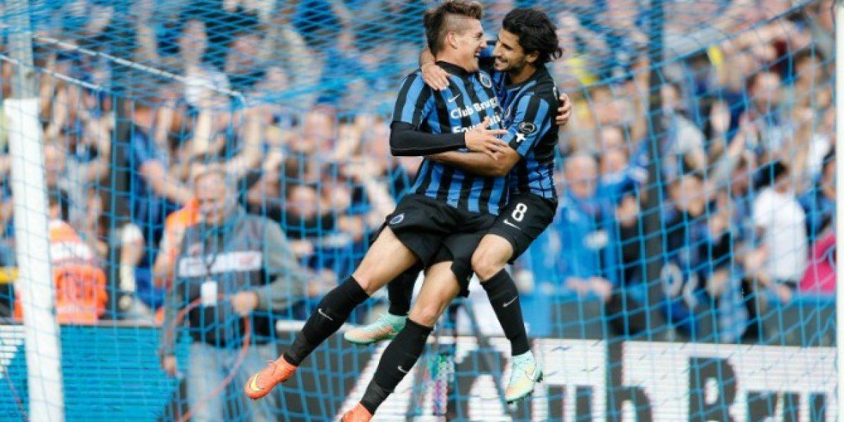 ¿Opción para Sampaoli? Nico Castillo marcó tres goles en goleada del Brujas