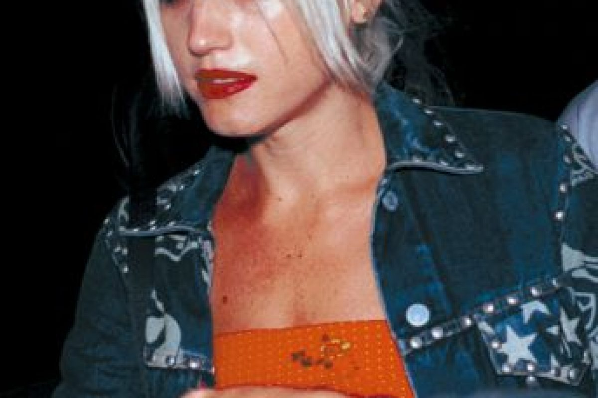 """Gwen Stefani, en los tiempos de """"Rock Steady"""", con No Doubt, su banda. Foto:Getty Images. Imagen Por:"""